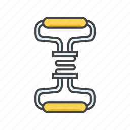 exercise, fitness, gym, jumping, rope, stretch, tool icon