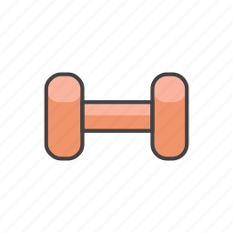 barbell, dumbbell, exercise, health, sport, training icon