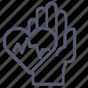 cardiac, hand, heart, pulse, rate, sport