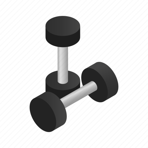 dumbbell, equipment, fitness, healthy, isometric, sport, weight icon