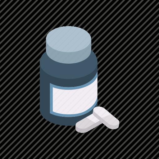 health, healthcare, isometric, medical, medicine, pill, vitamin icon