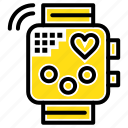 activity, device, fitness, heartbeat, monitoring icon