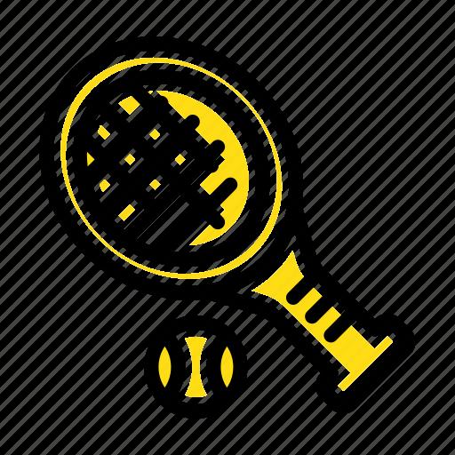 ball, racket, sport, tennis icon