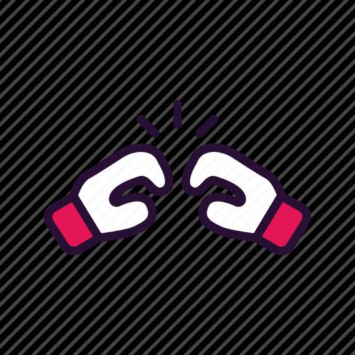 boxing, gloves, sport, sport equipment icon