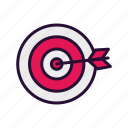 darts, focus, sport, sport equipment icon
