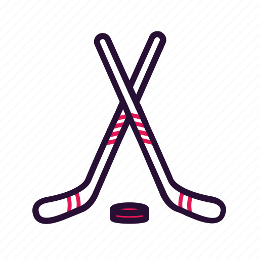 hockey, ice hockey, sport, sport equipment icon