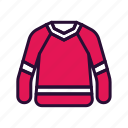 jersey, shirt, sport, sport equipment icon