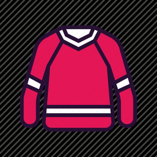 jersey, shirt, sport, sport equipment icon