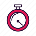 fitness, sport, timer, training icon