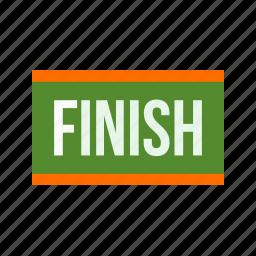 finish, finishing, line, marathon, people, sport, winning icon