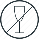 no alcohol, no drink, no wine, wine prohibition, wine restriction icon