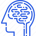 brain, head, medicine, psycho, psychology, therapy, treatment icon
