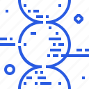 dna, genetics, helix, medicine, science, spiral, test icon
