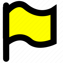 flag, important, location icon