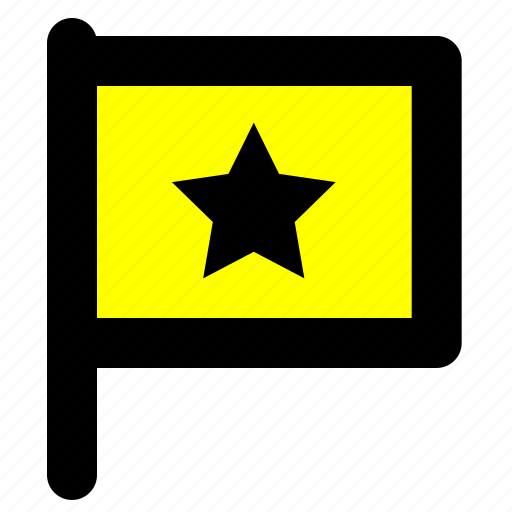 flag, important icon