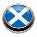 circle, country, flag, flags, nation, national, scotland icon