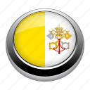 circle, country, flag, flags, nation, national, vatican icon