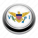 circle, country, flag, flags, nation, national, virgin icon