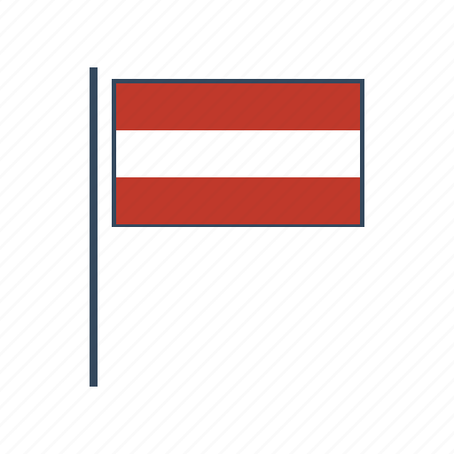 austria, austrian, europe, flag icon