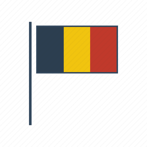 belgium, europe, flag icon