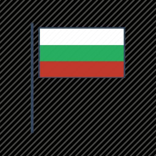 bulgaria, bulgarian, europe, flag icon