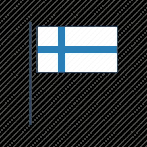europe, finland, flag icon