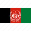 country, flag, asia, afghanistan