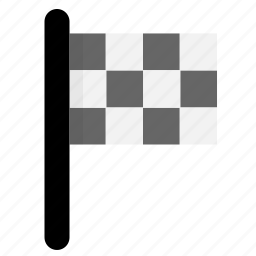 flag, game, mark, racing, success, win icon