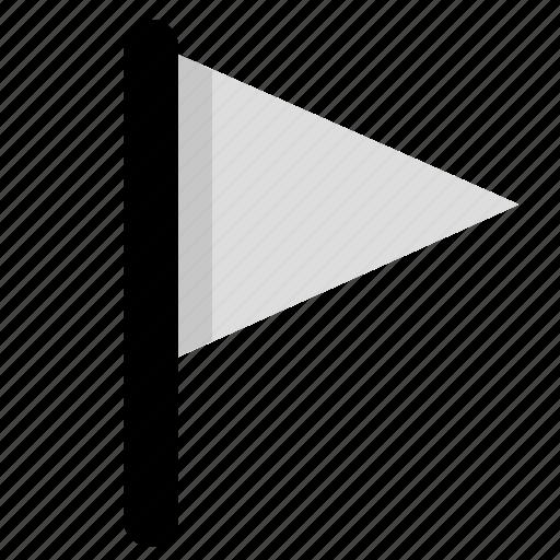 2, flag, grey icon