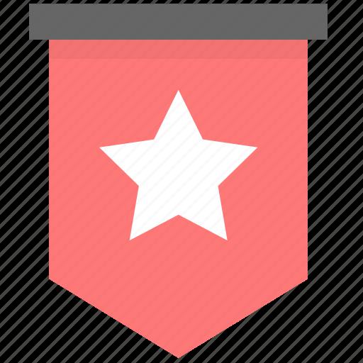 advice, awards, flag, important, level, mark, member icon