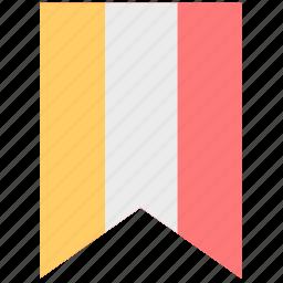 awrds, flag, label, mark icon