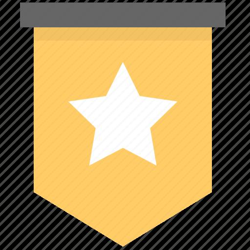 awards, flag, important, level, mark, member, notification icon