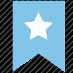 awards, flag, important, label, level, mark icon