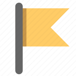 flag, important, label, mark, notification, sign icon