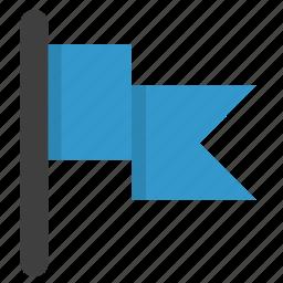 flag, label, location, mark icon