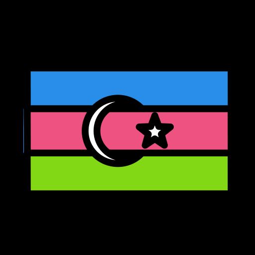 azerbaijan, national, world icon