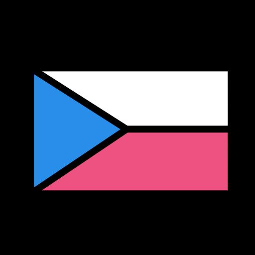 czech, national, republic, world icon