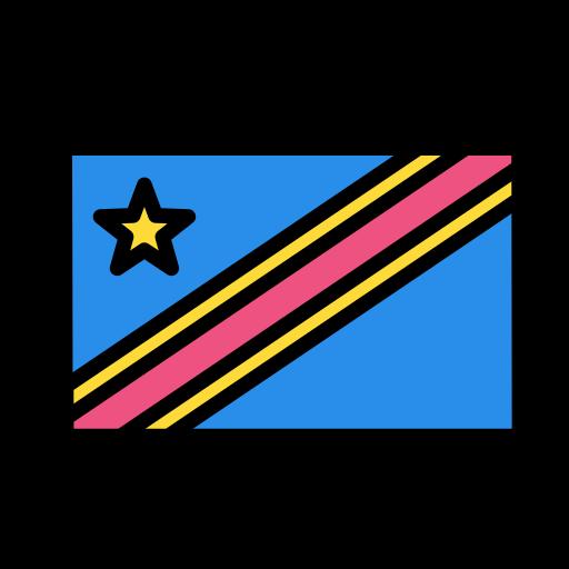 con, democratic, national, of, republic, the, worldgo icon