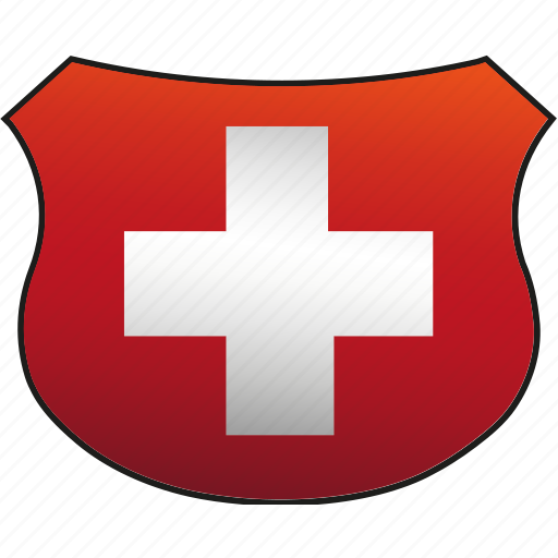 flag, switzerland icon
