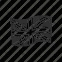 country, nation, united kingdom, flag, london, uk