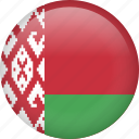 belarus, circle, country, flag, nation, national icon