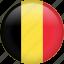 belgium, circle, country, flag, nation, national icon