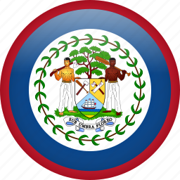 belize, circle, country, flag, national icon