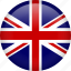 britain, british, circle, england, europe, flag, kingdom icon