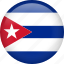 circle, country, cuba, flag, nation, national icon