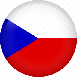 circle, country, czech, flag, nation, national icon