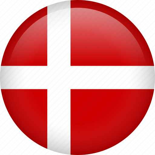 circle, country, denmark, flag, nation, national icon