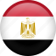 circle, country, egypt, flag, nation, national icon