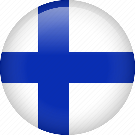 circle, country, finland, flag, nation, national icon