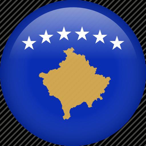 Slikovni rezultat za circle flag kosovo